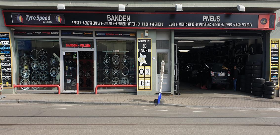 Achat - vente Jantes et Pneus TyreSpeed Bruxelles Belgique